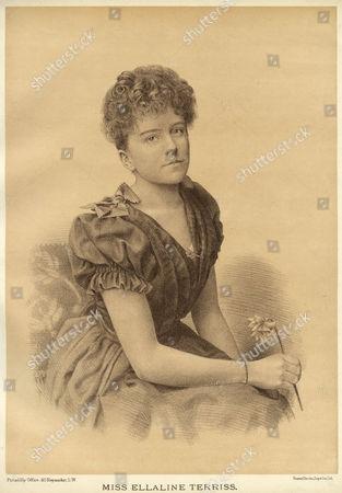 Ellaline Terriss English Actress circa 1891
