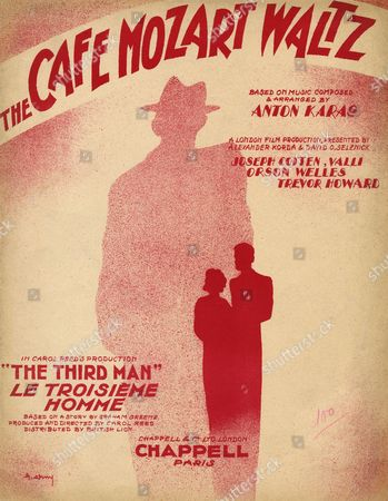 Carol Reed's Evocation of Postwar Vienna Based On A Graham Greene Story Makes Brilliant Use of the Music of Anton Karas in the Harry Lime Theme and Cafe Mozart Waltz 1949