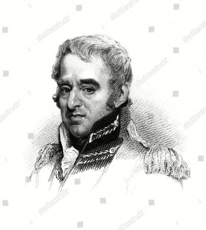 Stock Photo of George Forbes Sixth Earl of Granard Scottish Military Commander in the War Against Napoleon 1760 - 1837