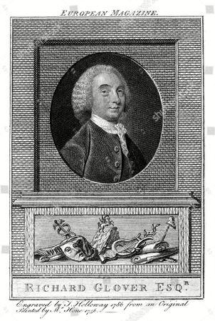 Richard Glover Writer 1712 - 1785