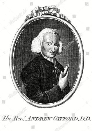 Andrew Gifford Scottish Churchman and Antiquary 1700 - 1784
