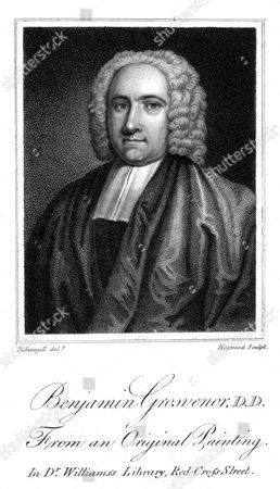 Benjamin Grosvenor English Dissenting Churchman Pastor at Crosby Square and Lecturer at Salter Hall 1676 - 1758