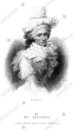 Anna Maria Appolonia Hastings Second Wife of Warren Hastings Previously Married to Baron Imhoff 1749 - 1837