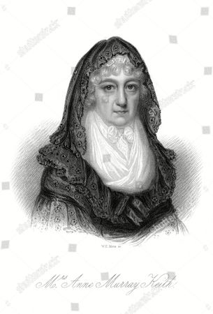 Anne Murray Keith Who Married Without Changing Her Name When She Said 'Yes' to Sir Robert Murray Keith 1736 - 1818