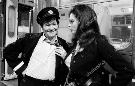 'On The Buses'   TV Episode: Brew It Yourself Sally Douglas and Reg Varney