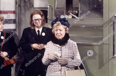 'On The Buses'   TV Episode: Goodbye Stan Anna Karen (left) and Doris Hare