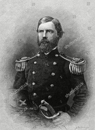 Major-general John Fulton Reynolds American Military Commander Killed by A Sharpshooter at Gettysburg 1820 - 1863