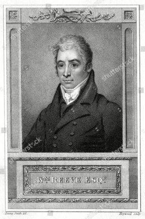 William Reeve Actor and Musical Performer 1757 - 1815