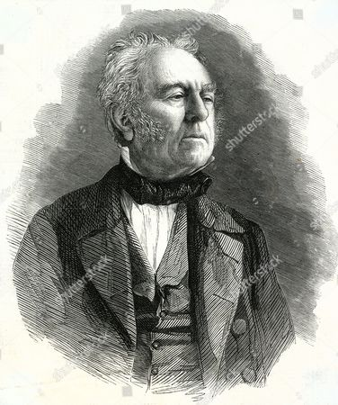 Stock Photo of Walter Savage Landor - British Poet Dramatist and Prose Writer 1785 - 1864