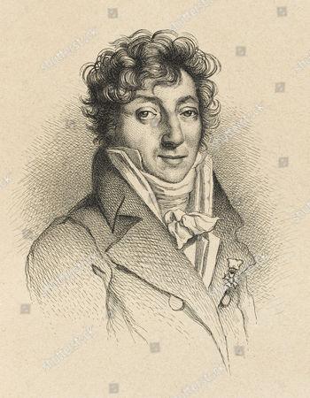 Stock Image of Henri Montan Berton French Composer Mainly of Operas Son of Composer Pierre Montan Berton (1727 - 1780) 1767 - 1844