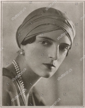 Princess Irina Youssoupoff Daughter of the Grand Duchess Xenia of Russia Niece of Tsar Nicholas Ii and Wife of Felix Youssoupoff the Infamous Murderer of Rasputin This Picture Appeared in Tatler at A Period When Irina and Her Husband Were About to Open A Branch of Their Paris Dress Shop in Berkeley Street London 1926