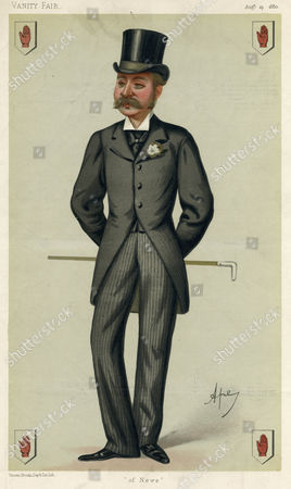 Sir Charles Stewart Forbes 5th Baronet of Newe in the County of Aberdeen (1867-1927) Caption: 'Of Newe' 1867-1927