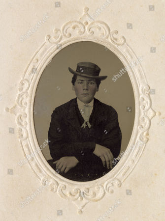 American Civil War Era Tinted Tintype Photograph There Has Been Some Colour Added To His