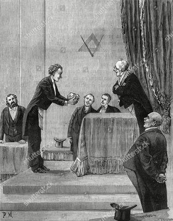 Initiation to the Rank of Mark-mason 1890s