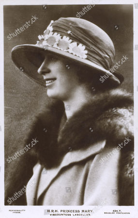 Princess Mary (1897 - 1965) - Daughter of Prince George Later King George V & the Duchess of York Later Queen Mary Married Viscount Lascelles Reluctantly in 1922 Lascelles Proposed to Her After A Wager at His Club She Lived Under 6 British Monarchs Bears A Remarkable Similarity to Zara Phillips the Second Child and Only Daughter of Anne Princess Royal and Her First Husband Captain Mark Phillips; Zara is the Great Great Niece of Princess Mary circa 1923