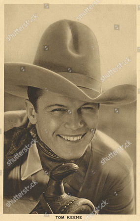 Tom Keene (1896-1963) American Film Actor Appearing Mostly in Westerns circa 1930s