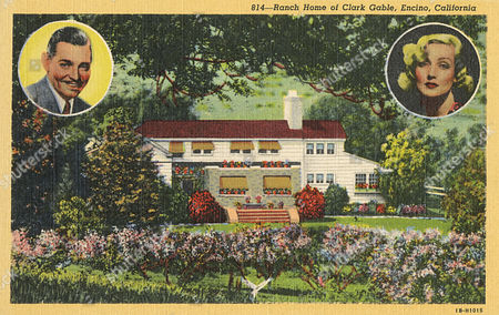 Ranch Home of the Film Star Clark Gable and His Wife Carole Lombard Encino California Usa 20th century