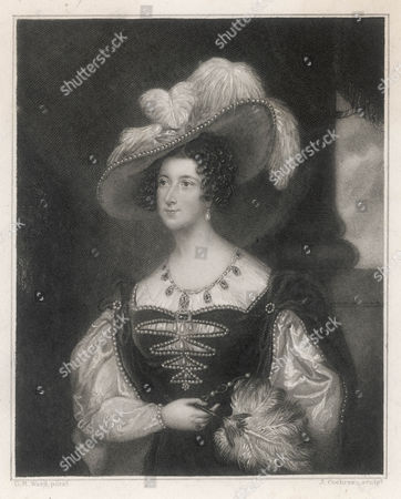 Stock Picture of Anna Marie Stanhope Duchess of Bedford As the Marchioness of Tavistock Wife of Francis 7th Duke 1783 - 1857