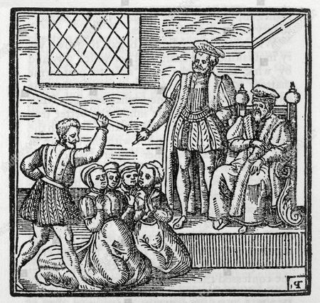 The North Berwick Witches Agnes Sampson Agnes Tompson Dr Fian and Others Are Tried Before King James Most of Them Were Executed 1591