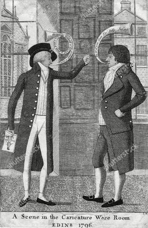 John Kay One of His Caricatured 'Victims' is not All That Pleased with the Way He Has Been Portrayed 1742 - 1826