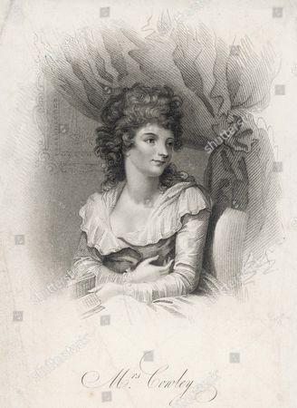 Hannah Cowley Comic Dramatist 1743 - 1809