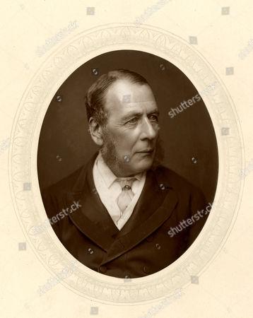 William Ballantine (1812 - 1887) English Lawyer Prosecuted Murderer Franz Muller (1864); Led Case For Tichborne Claimant (1871) Circa 1880