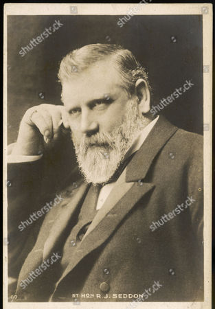 Richard John Seddon Known As King Dick New Zealand Politician Born in England 1845 - 1906