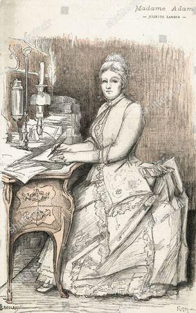 Juliette Adam (nee Lamber) French Writer 1836 -1936