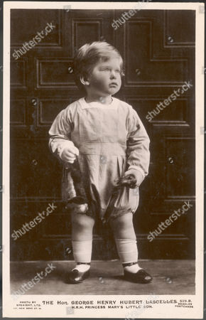 George Henry Hubert Lascelles Later 7th Earl of Harewood Elder Son of 6th Earl Harewood and Princess Mary 1923 -2011