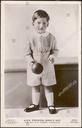 George Henry Hubert Lascelles Later 7th Earl of Harewood Elder Son of 6th Earl Harewood and Princess Mary Playing with A Ball 1923 -2011