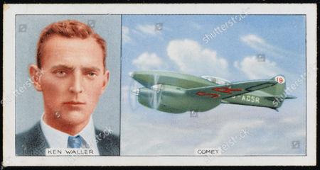 Kenneth Herbert Fraser Waller Pioneer Aviator and His De Havilland Comet