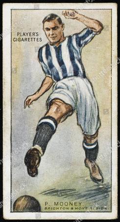 Paul Mooney Centre-half For Brighton & Hove Albion 1928
