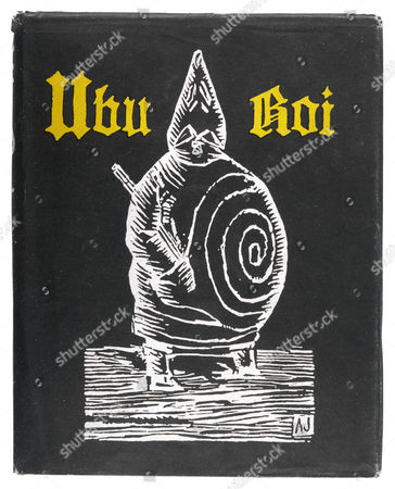 Front Cover of 'Ubu Roi' Depicting Pere Ubu & the 'Spiral Adorning His Belly' First published: 1896