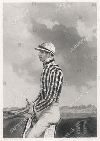 Simon Templeman the Celebrated Jockey 1856