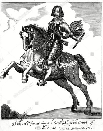 William Fiennes First Viscount Say & Sele Parliamentary Soldier During the Civil War 1582 - 1662