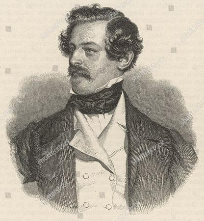 Stock Image of Alexander Freiherr Von Bach Austrian Statesman 1813 - 1893