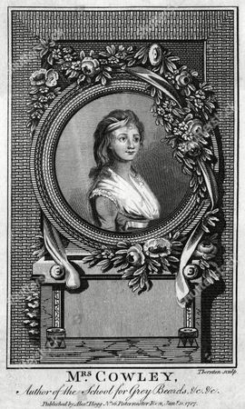 Hannah Cowley Writer Author of the School For Grey Beards Etc 1743 - 1809