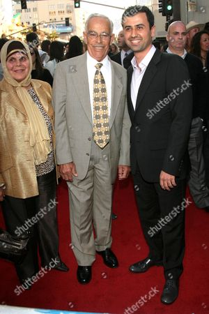 Daoud Heidami and his parents