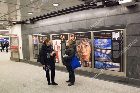 Editorial picture of Public viewing of 96th Street station, New York, US - 23 Dec 2016