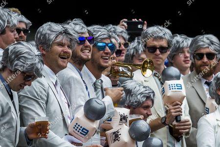 Editorial image of Australia v Pakistan, Commonwealth Bank Test Series, 2nd Test, Day 2,  International Cricket, MCG, Melbourne, Australia - 27 Dec 2016