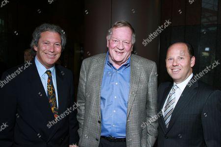 Jeff Baker, Richard Schickel & Ron Sanders