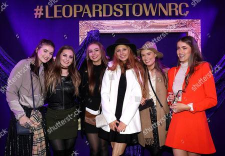 2016 Leopardstown Christmas Festival, Leopardstown Racecourse, Dublin 26/12/2016. Isobel Tamsey, Ally Mezynska, Kate Williams, Lily McKenna, Ava Maher and Lara Barrett from Dublin