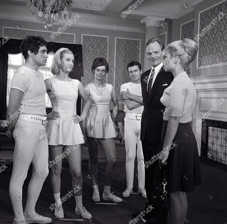 'The Champions'   - 'The Experiment' - Allan Cuthbertson and Alexandra Bastedo