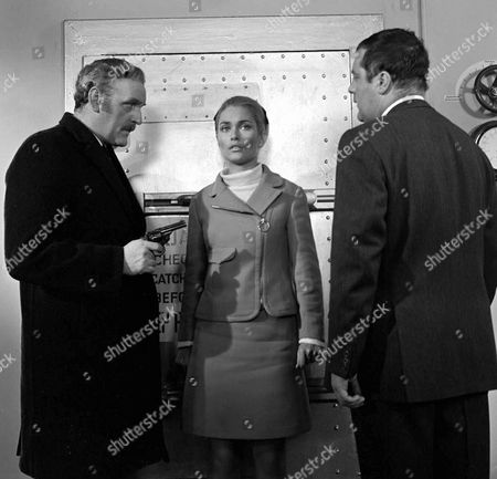 'The Champions'  - 'The Ghost Plane' - Andrew Keir and Alexandra Bastedo