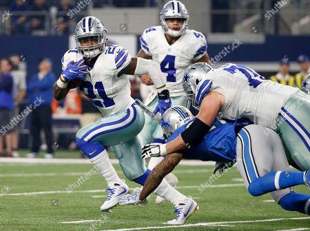 Editorial image of Lions Cowboys Football, Arlington, USA - 26 Dec 2016
