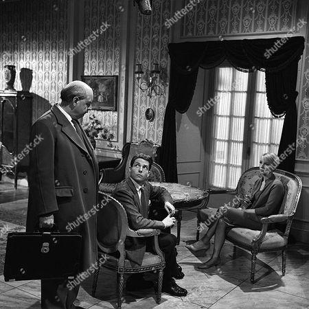 'Danger Man' - Episode 38 - 'Dangerous Secret' - Derek Francis, Lyndon Brook and Elizabeth Shepherd