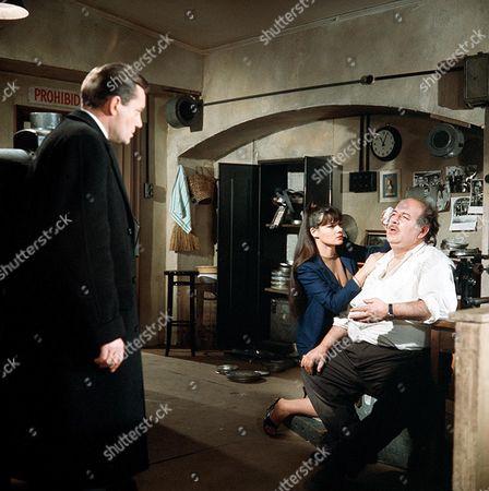'Danger Man' - Episode 19 - 'An Affair at Castelevara' - Charles 'Bud' Tingwell, Sonia Fox and Eric Pohlmann
