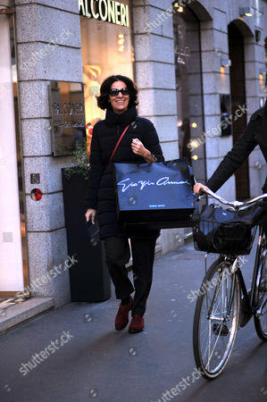 Editorial image of Roberta Armani out and about, Milan, Italy - 27 Dec 2016