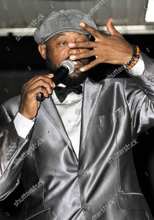 Editorial image of Comedian Actor Ricky Harris at Hollywood Park Casino, Inglewood, USA - 10 Aug 2013