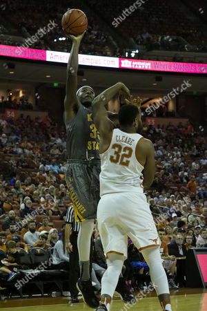 Jimmy Hall #35 of the Kent State Golden Flashes in action vs the Texas Longhorns at the Frank Erwin Center in Austin Texas. Kent State defeats Texas 63-58